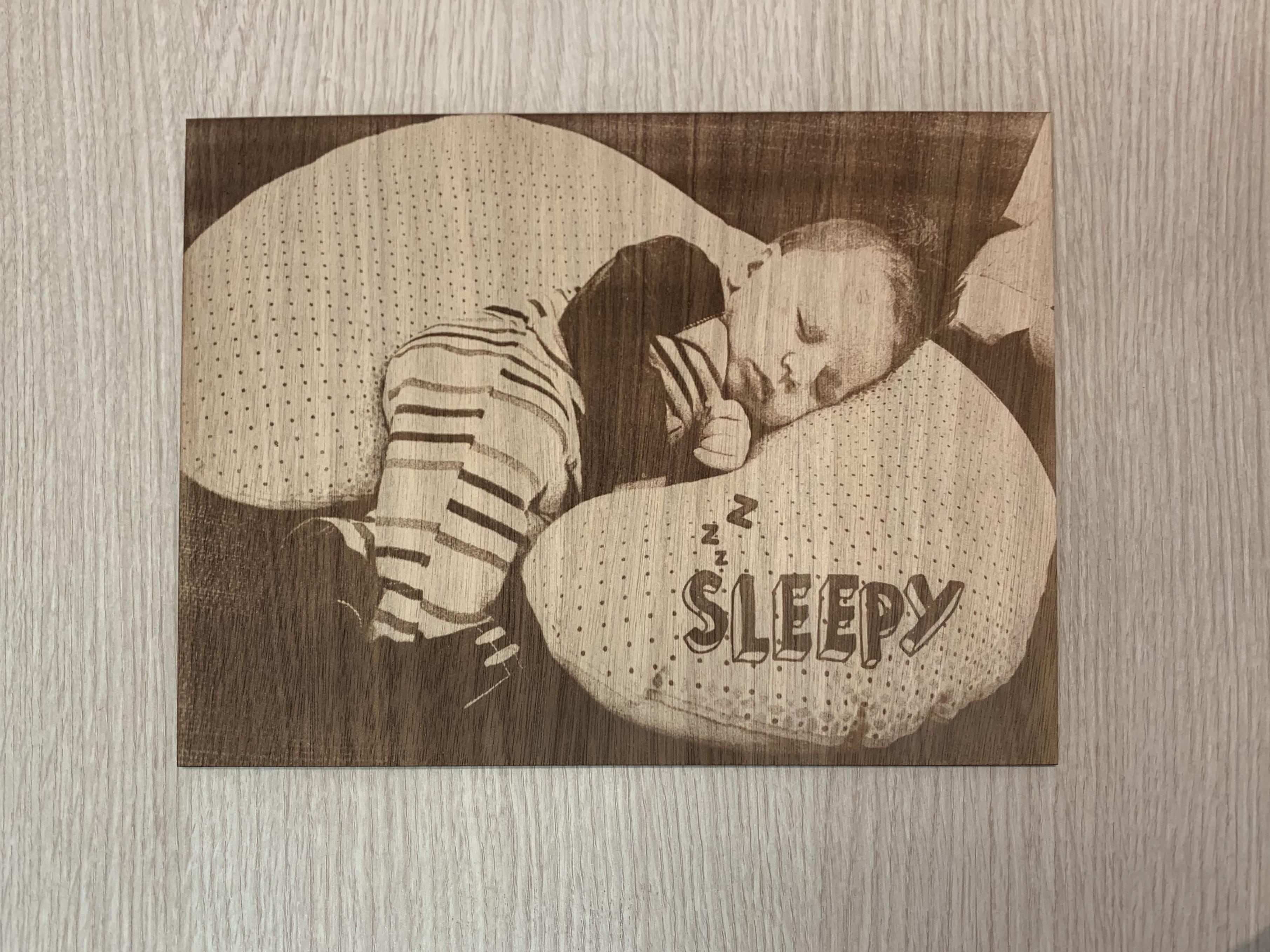 Foto stampate su legno